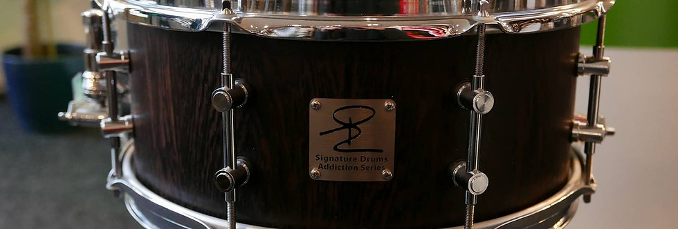 Signature Drum Addiction Series 14x6 Wenge