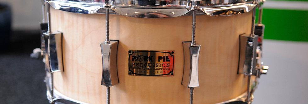 Pork Pie 14x7 Maple Brass Maple