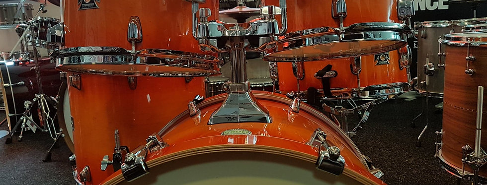 Tama Superstar Classic in Tangerine Lacquer Burst CL52KRS-TLB