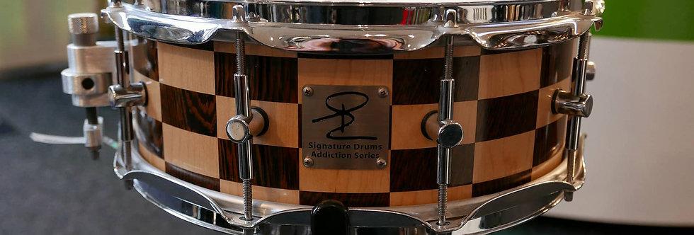 Signature Drum Addiction Series 14x6 Maple/Wenge