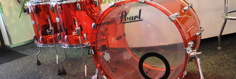 Pearl Crystal Beat in Ruby Red