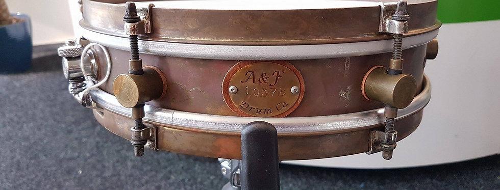A&F Drum Co. 12x3 Raw Brass