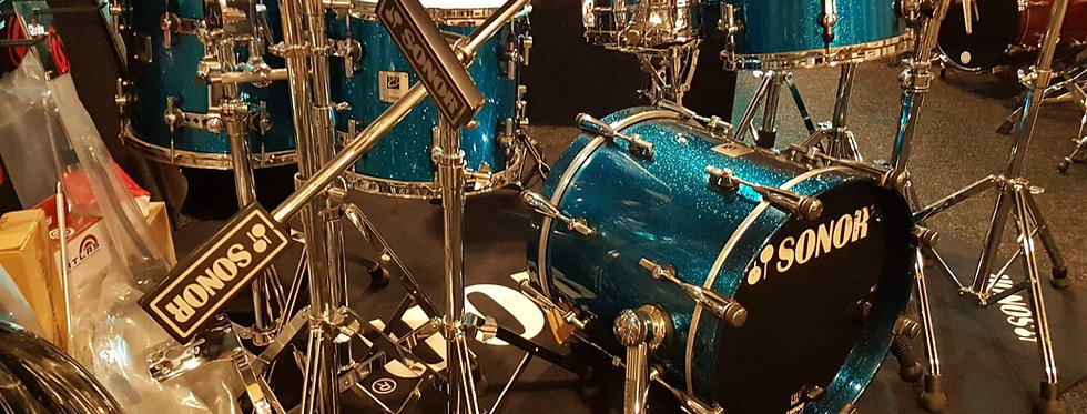 Sonor Designer in Blue Sparkle