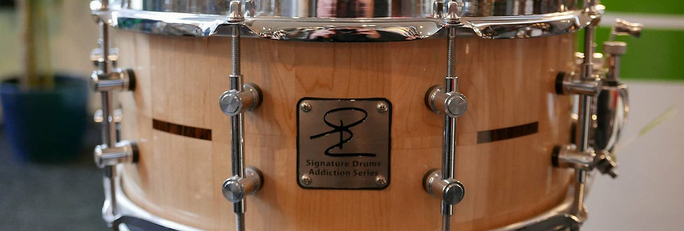 Signature Drum Addiction Series 14x6 Maple/Purperhart