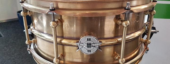 Dunnett 2N 14x6.5 Antique Triple Brass