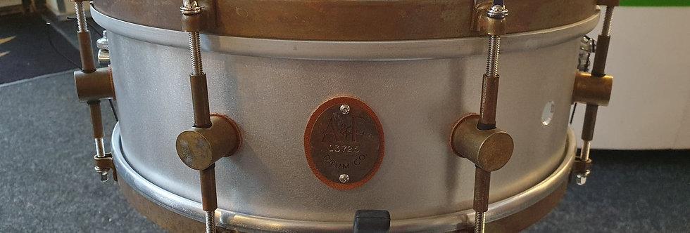 A&F Drum Co. 14x5 Raw Aluminum