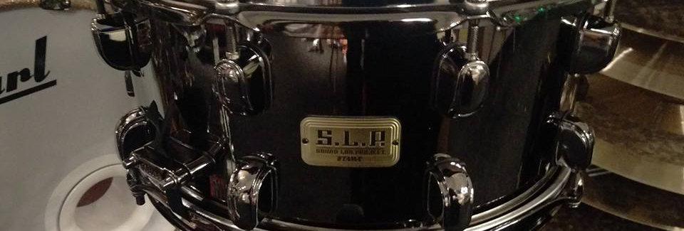 Tama S.L.P. 14x6.5 Black Brass LBR1465