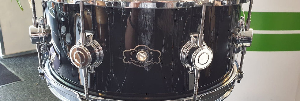 George Way 14x6.5 Aristocrat Maple in Gloss Black