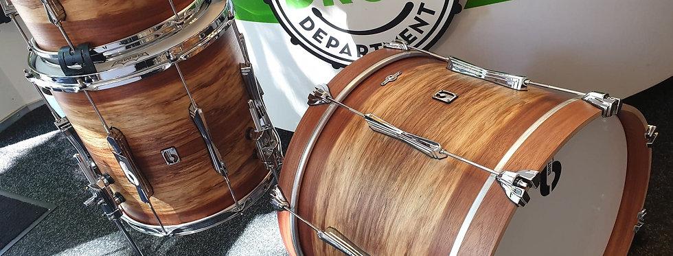 British Drum Co. Limited Edition Wild Etimoe Finish