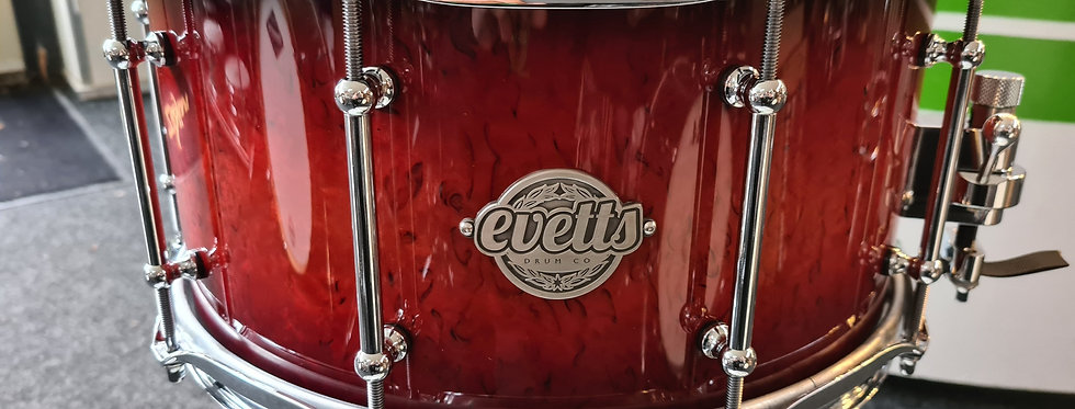 14x7 Jarrah in Cherry Red Burst