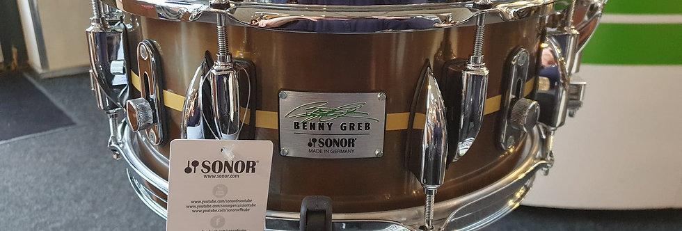 Sonor Benny Greb Signature 13x5.75 Brass BG SDB 2.0