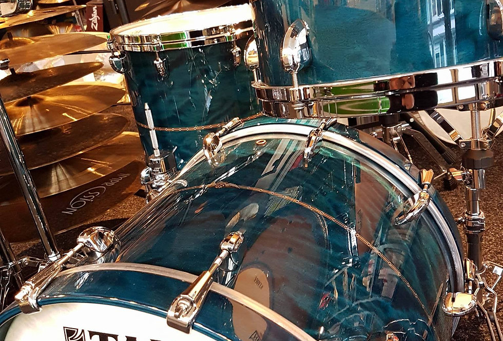 Tama Star Maple in Wild Sea Blue Bosse