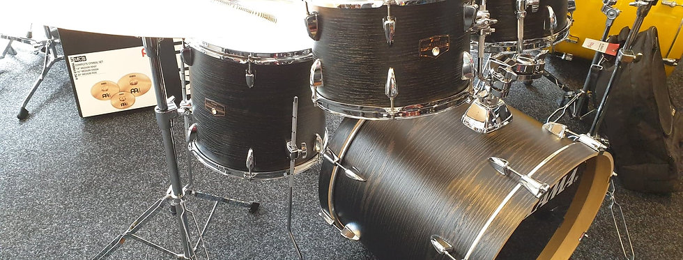 Tama ImperialStar in Black Oak Wrap