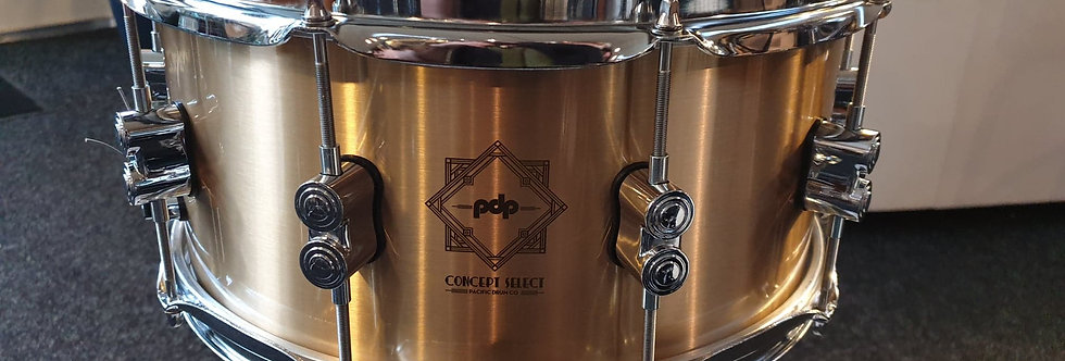 PDP by DW Concept Select 14x6.5 Cast Bell Bronze