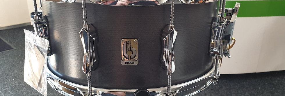 British Drum Co Nicko McBrain 14x6.5 Talisman