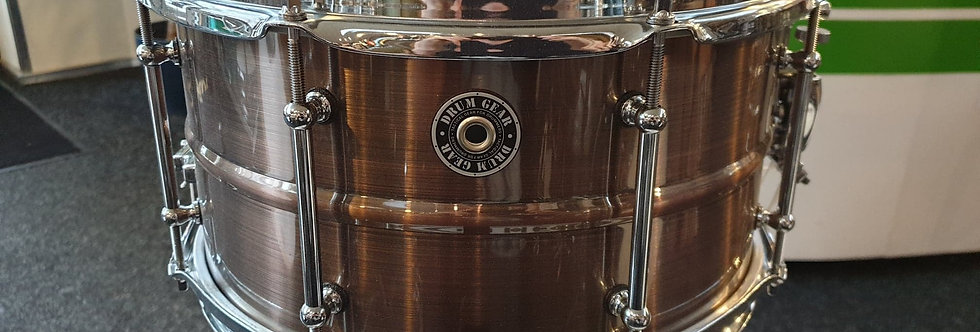 DrumGear 13x7 Brushed Bronze