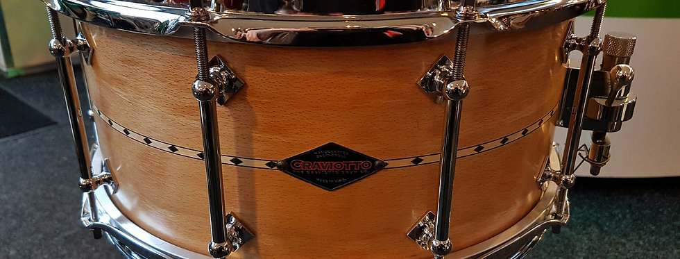 Craviotto 14x6.5 Beech