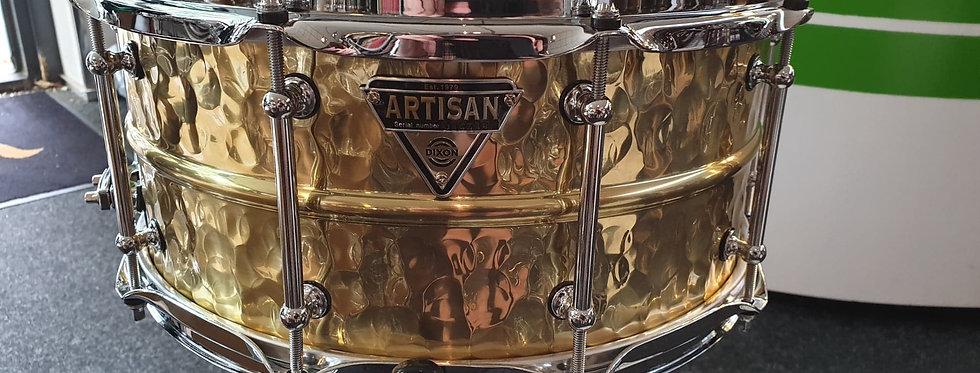 Dixon Artisan 14x6.5 Hammered Brass PDS9654BR-H2