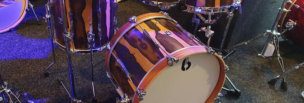 British Drum Co. Lounge in Ziricote Finish