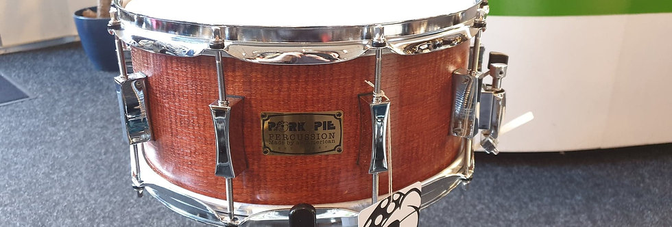 Pork Pie 14x6.5 Hickory in Rosewood Satin Finish