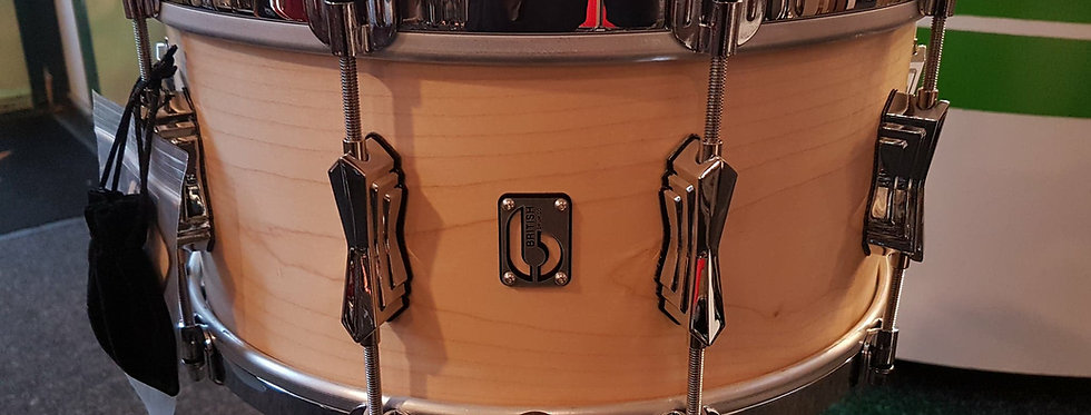 British Drum Co. Tailor Made Steambend 14x6.5 Maple snare