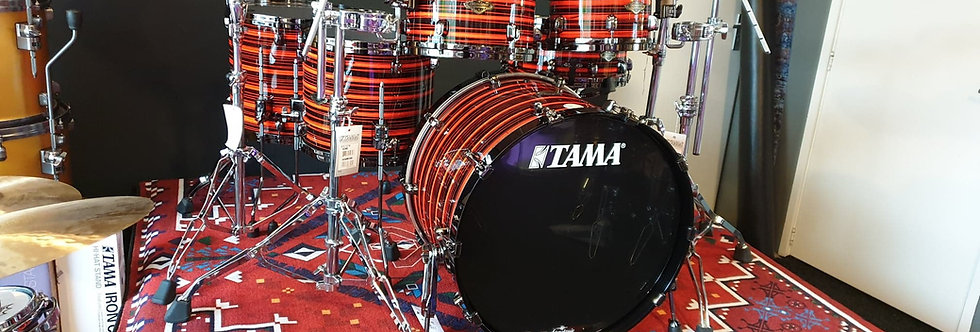 Tama StarClassic Walnut Birch WBS52RZS in Neon Orange Oyster