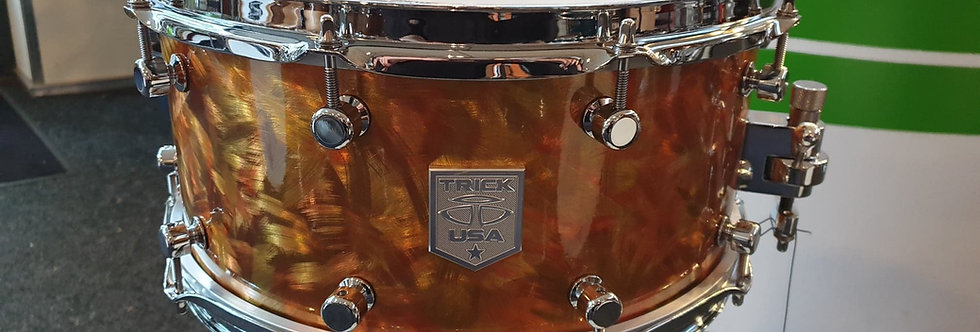 Trick 14x6.5 Precious Metals Scorched Copper snare
