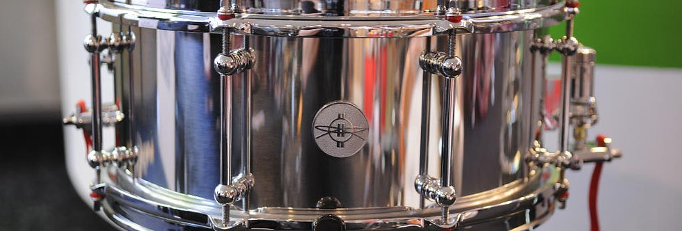 Dunnett Classic Drums 14x6.5 Stainless Steel
