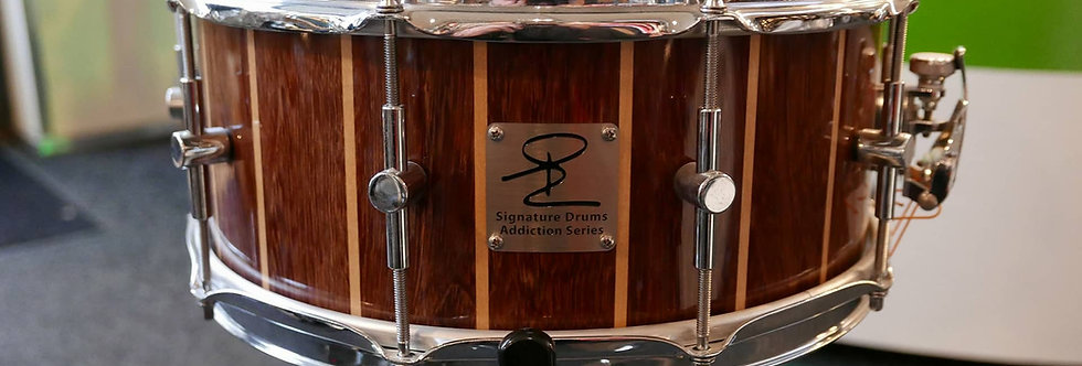 Signature Drum Addiction Series 14x6 Purperhart/Maple