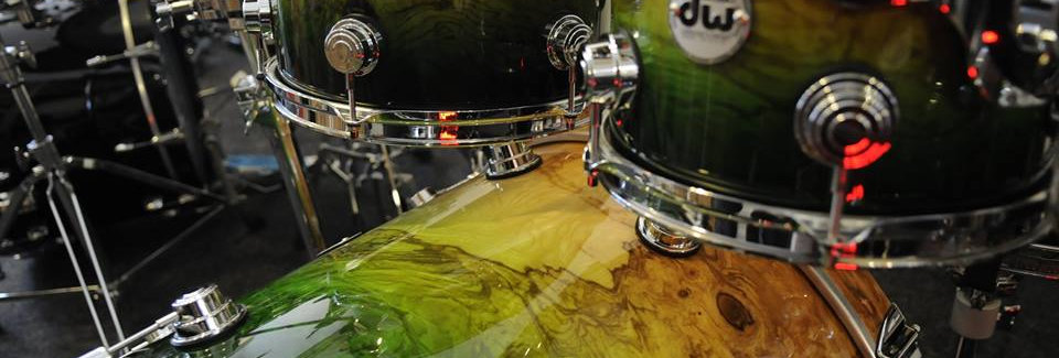 Collector's Series Exotic Natural to Emerald Lacquer Burst over Olive Ash Burl