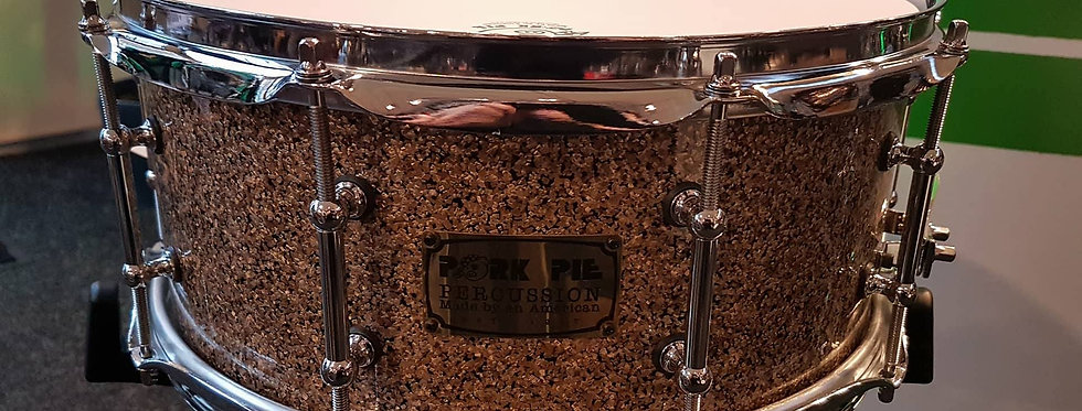 Pork Pie 14x6 Porcaro snare in B20 finish