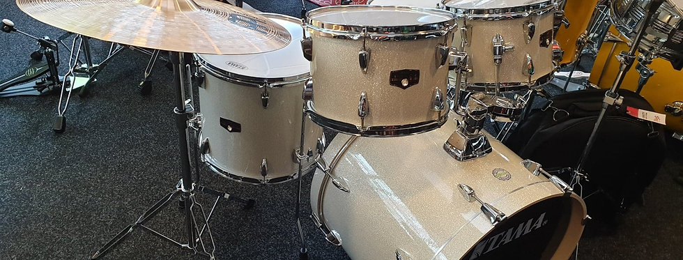 Tama ImperialStar in Vintage White Sparkle