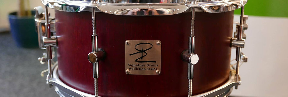 Signature Drum Addiction Series 13x6.5 Purperhart
