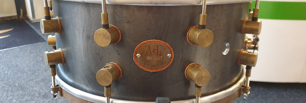 A&F Drum Co. 14x6.5 A&Fers Steel Bell