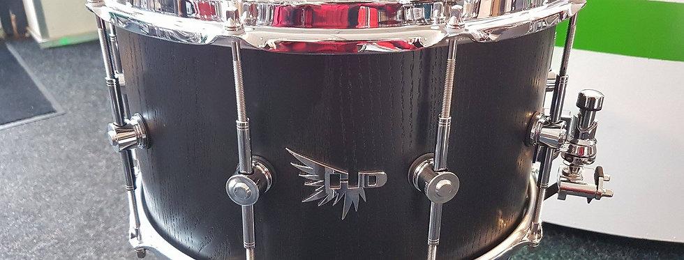 Hendrix Drums 14x8 Satin Black Oak