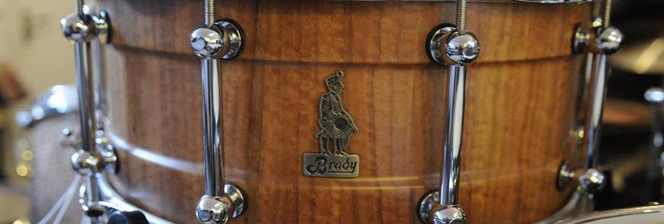 Brady 14x6.5 Wandoo Walkebout Baritone snare