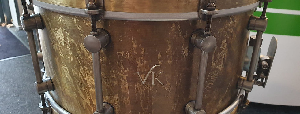 VK Drums 14x7 Patina Brass
