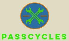 Logo entreprise passcycles agence de location velo et réparation velo la tremblade et ronce les bains