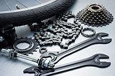 Outils et pièces réparation vélo