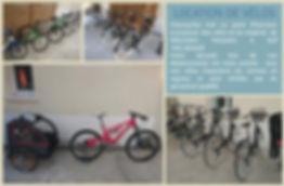 vélos en location à Ronce Les Bains, La Tremblade, VTT, VAE, VTC
