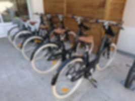 plusieurs vélos automatique Matra disponible en location