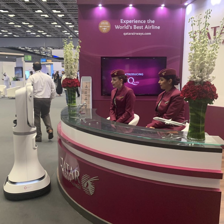 Ava Robotics Partners with Qatar Airways to Introduce Smart Airport Technologies at QITCOM 2019