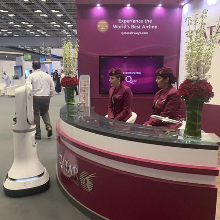 Ava Robotics Partners with Qatar Airways to Introduce Smart Airport Technologies at QITCOM 2019