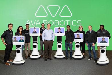 Ava Robotics Team with CEO Youssef Saleh