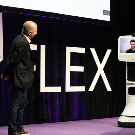 Ava Telepresence at Flex Summit 2019 and the Future of Work