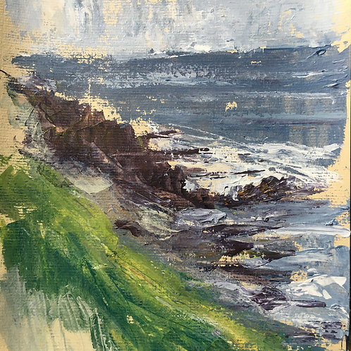 Coastal Path Rocks (Sketch)