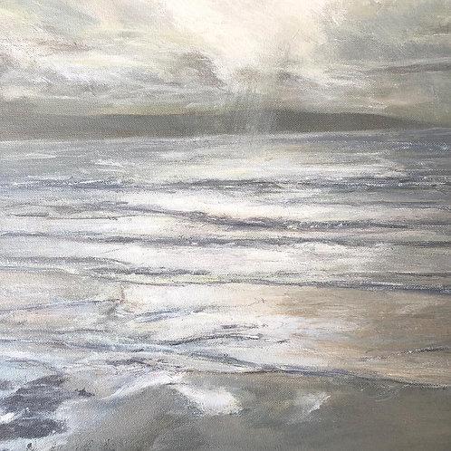 Winter Sunset, St Ives Bay