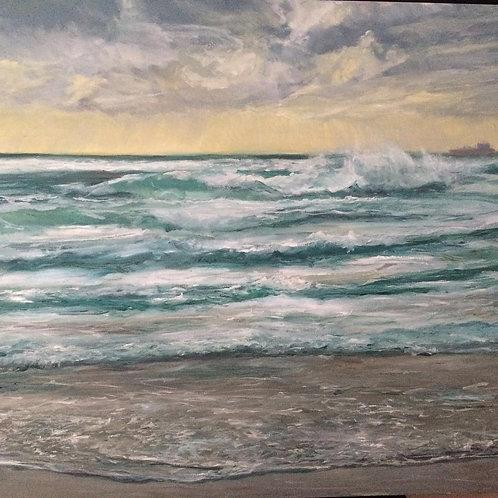 Winter Waves, Mount's Bay