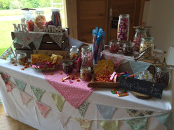 Dodford candy table