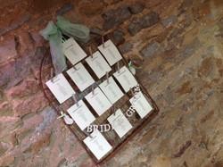Dodford - Birdcahe table planner mint
